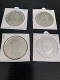 Monedas de plata Thaler de Europa. - foto