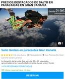 Salto en paracaídas - foto