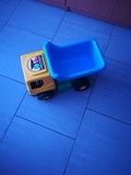 camion azul amarillo 49x22cm por 7er - foto