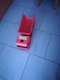 camion rojo 53x18cm por 5er - foto