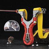 Tirachinas de acero con laser - foto