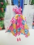 vestido y zapatos barbie - foto