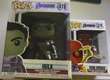"""vendo funko pops Hulk 6"""" y iron spider - foto"""
