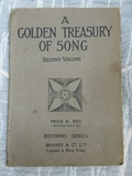 A GOLDEN TREASURY OF SONG  VOL II