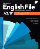 ENGLISH FILE STUDENT\'S BOOK AND WORKBOO - foto