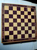Juego de ajedrez y damas magnético - foto