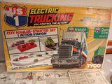 circuito tyco eléctrico truking - foto