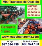 MINITRACTORES DE OCASIÓN: : --*  - foto