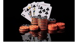 Club privado de póker. - foto