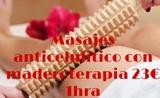 Masaje reductor maderoterapia - foto