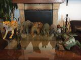 Lote figuras animales grandes - foto