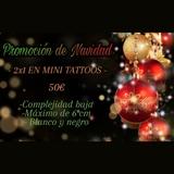 Promoción de Navidad en Tatuajes - foto