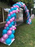 arcos de globos - foto