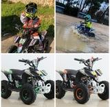 QUAD RACER PRO +CASCO+GUANTES - 50CC GASOLINA - foto