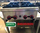 COCINA DE MESA 4 FUEGOS GAS - foto