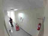 pintura de piso chalet y decorativa - foto