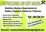 Reformas LowCost Aragon - foto