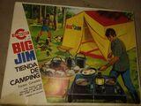 Juego años 70-80 camping Big Jim - foto