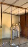 proyectado espumas poliuretano Inyeccion - foto