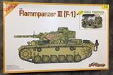 PANZER III F-1 Flammpanzer (con figuras) - foto