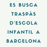 BUSCO TRASPÀS ESPAI INFANTIL A BARCELONA - foto