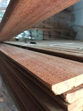 Rodapiés macizos de madera cumaru - foto