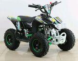 49CC MINI ATV QUAD RACER PRO VERDE - GASOLINA 2T 3, 5CV INFANTIL - foto