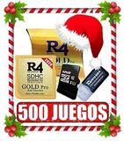 Tarjeta R4 2020+32 GB/500 Juegos, - foto