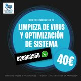 Optimizacion y limpieza virus por 40 - foto