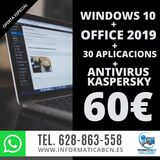 Windows 10 + 30 aplicacions + antivirus - foto