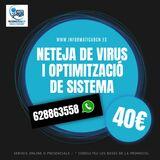 OptimitzaciÓ i neteja virus per 40 - foto