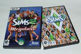 2 Juegos DVD Los Sims 2 Megaluxe y 3 - foto