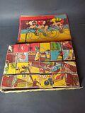Antiguo puzzle de cubos - foto