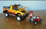 playmobil todoterreno. y quad 4228 - foto