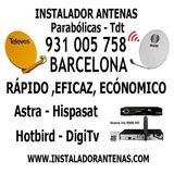 Antenas Parabolicas Barcelona - foto
