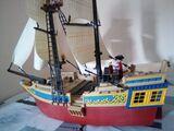 Barco Playmobil - foto