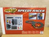Pista de coche fastlane speedy racer - foto