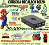 Consola videojuegos recalbox 128 gigas, - foto