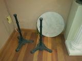 Mesa velador marmol - foto