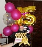 Ramos de globos y chuches - foto