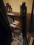 escalera de hierro estensible - foto