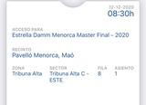 se vende entrada semifinal WPT Menorca - foto