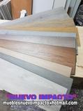 Tarimas pvc melamina y madera maciza - foto
