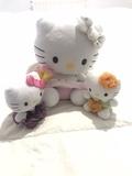 Conjunto Peluches Hello Kitty - foto