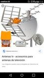 Antenas individual y colectiva . - foto