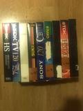 LOTE 9 CINTAS VHS