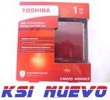 DISCO DURO TOSHIBA 1TB  CANVIO ADVANCE