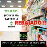 TRASPASO JUGUETERÍA/PAPELERÍA EN MATARÓ - foto