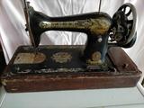 Máquina coser Singer antigua - foto