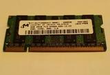MóDULO MEMORIA RAM 2GB DDR2 SODIMM